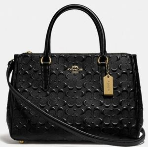 {NEW WITH TAGS}●COACH SURREY CARRYALL SATCHEL ✅